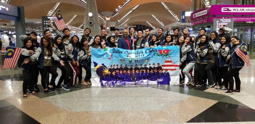 Malaysian choir emerged as the champion at the prestigious