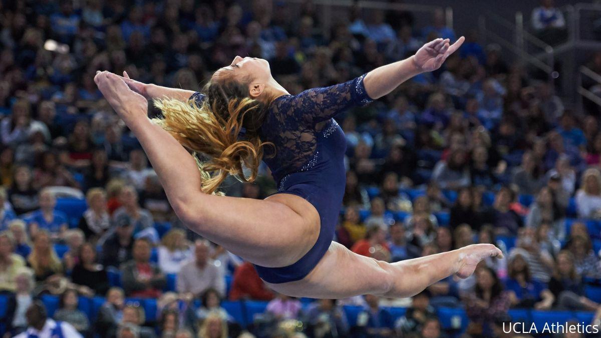 Katelyn Ohashi scored the fifth perfect