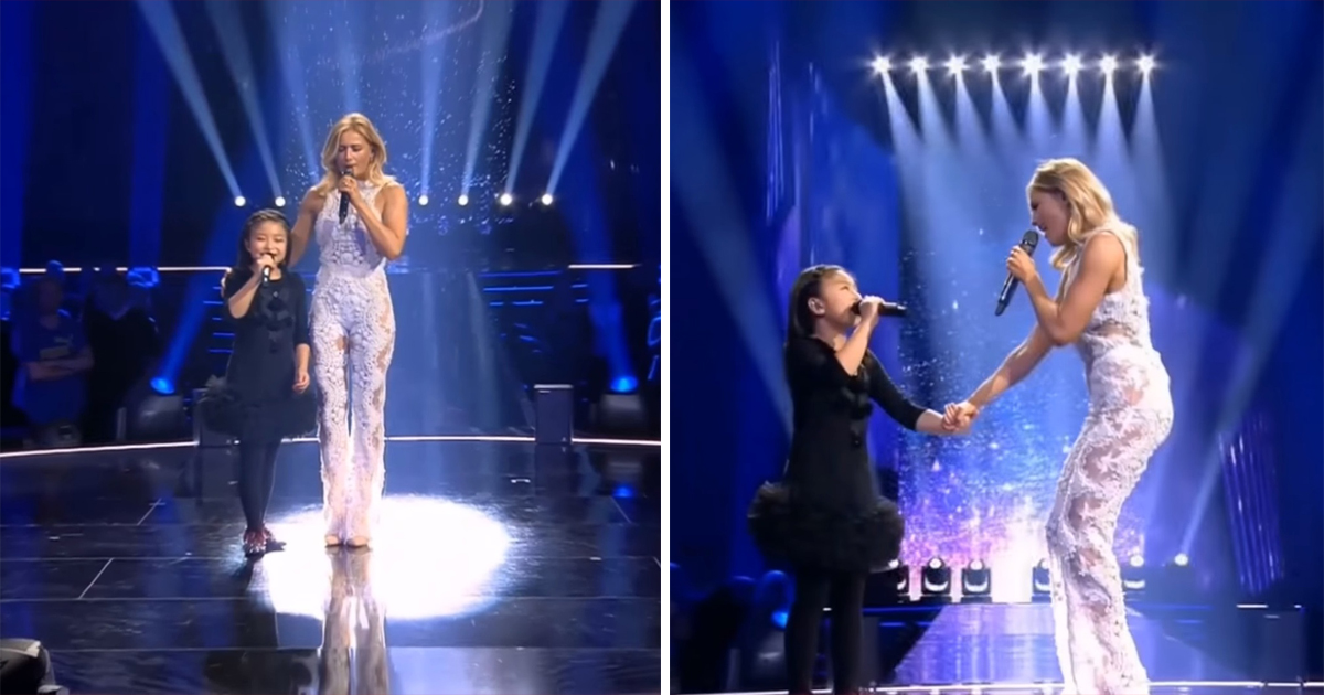 Seeing This Little Girl Celine Tam S Stunning Singing Of You Raise Me Up With Helene Fischer Will Give Us Goosebumps Good Times