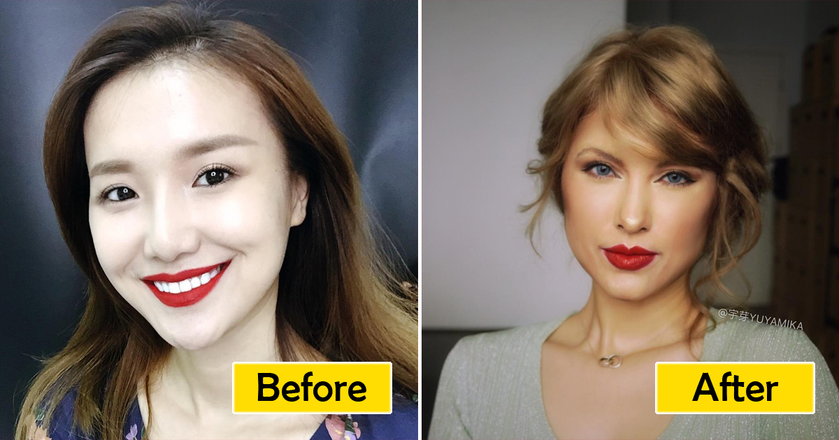 Chinese Makeup Artist Can Turn Into Anyone She Wants Including Taylor Swift Good Times